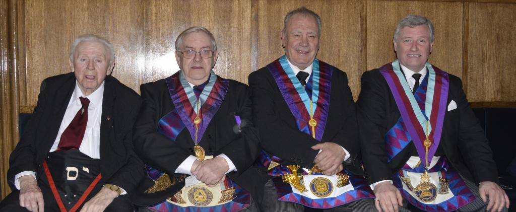 Past G Superintendents of the PGRAC of Edinburgh